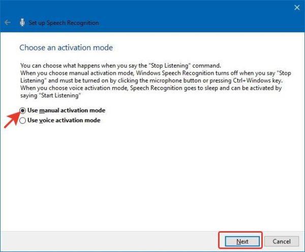 Используем «Режим ручной активации» или «Use manual activation mode», нажимаем «Next»