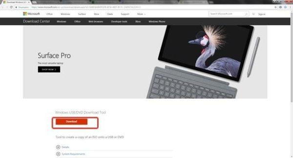 На официальном сайте скачиваем утилиту с помощью кнопки «Download»