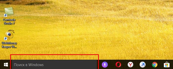 Панель поиска в Windows 10 ищет не только файлы и папки на компьютере, а так же связывается с хранилищем Windows и браузером