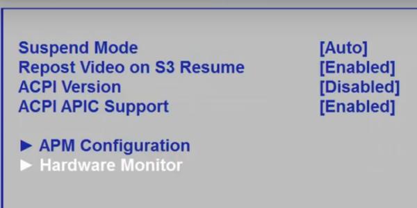 Переходим и открываем раздел «Hardware Monitor»