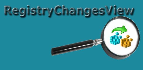 Программа RegistryChangesView