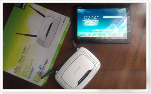 Роутер Tp-Link WR-841N и планшет ASUS-MeMO PadFHD10