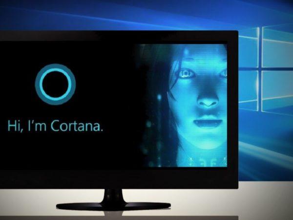 Встроенный виртуальный помощник Кортана для Windows 10