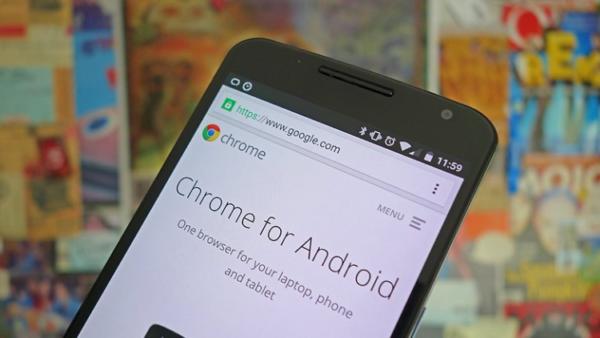 Запускаем мобильный браузер Google Chrome