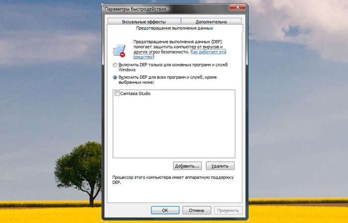 Добавляем файл в список исключений и нажимаем «Применить» или «ОК»