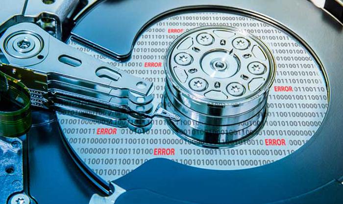 Электронная неисправностьжесткого диска