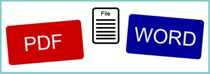 Как открыть документ pdf в Word
