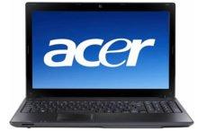 Как сбросить ноутбук до заводских настроек Acer