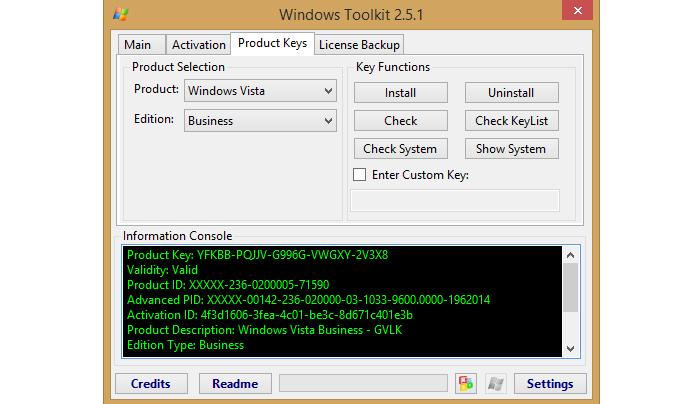 Microsoft Toolkit – это комбинация всех активаторов