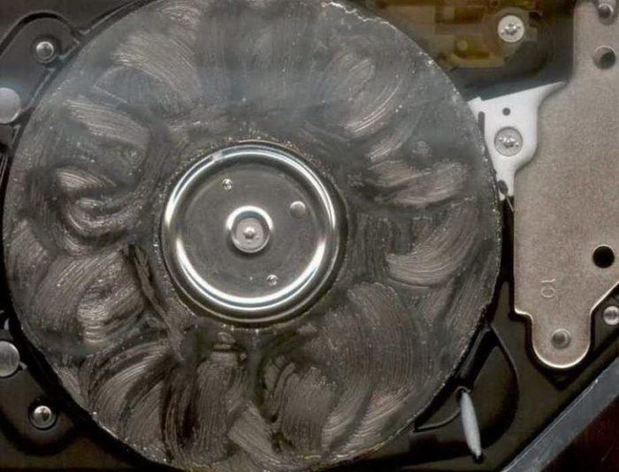 Перегрев жесткого диска
