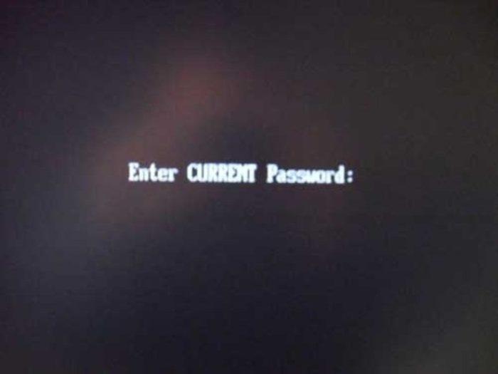 После сохранения изменений и перезагрузки ноутбука пароль вступит в силу, и будет запрошен при каждом входе в БИОС
