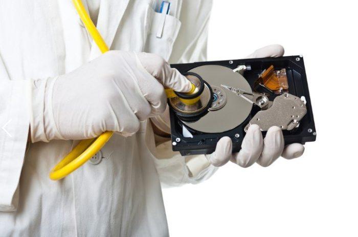 Жесткий диск не вращается, ищем проблемы