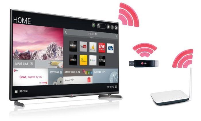 Как подключить вай фай к телевизору LG