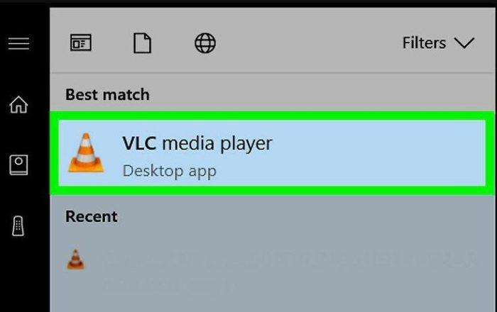 Открываем VLC медиаплеер