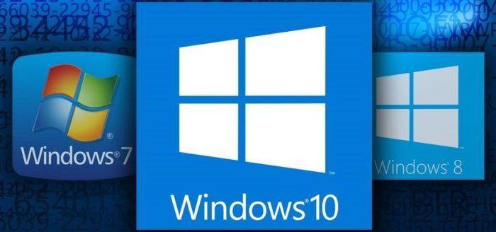 Самые популярные версии Windows