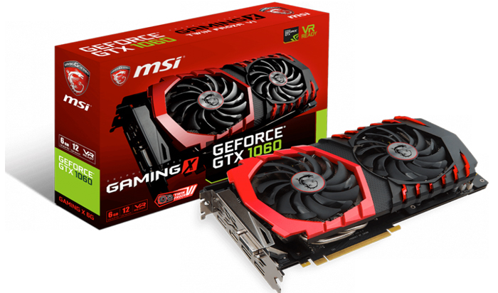 Средний вариант Nvidia 1060