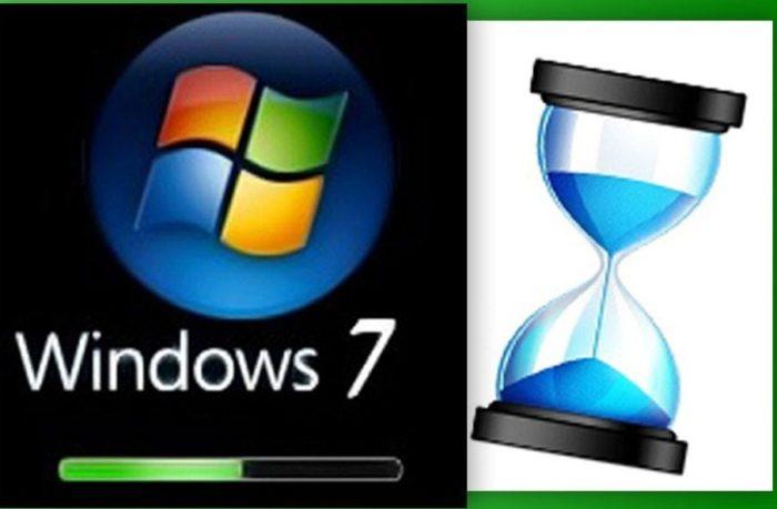 Долго загружается компьютер Windows 7 при включении