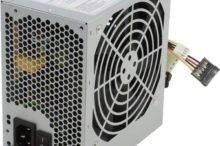 Как узнать мощность блока питания на компьютере