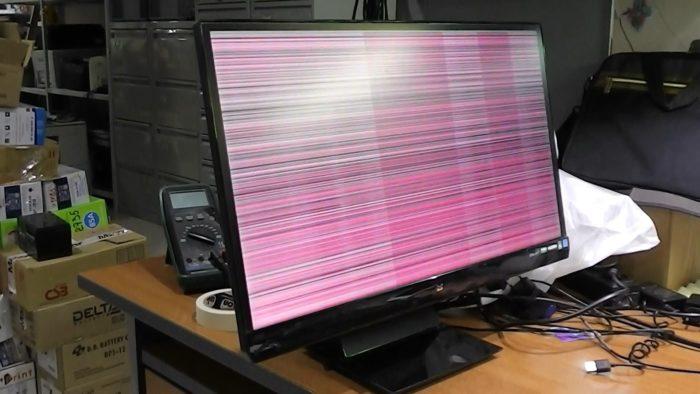 Рассмотрим основные причины мерцания экрана монитора