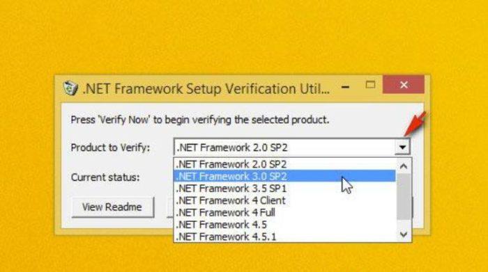 В пункте «Product to Verifity» из списка выбираем нужную версию платформы