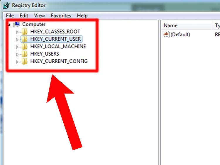 Все остальные программы записывают сведения в HKEY_CURRENT_USER