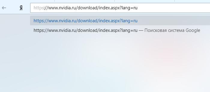 В поле поиска любого браузера вставляем скопированную ссылку, нажимаем «Enter»