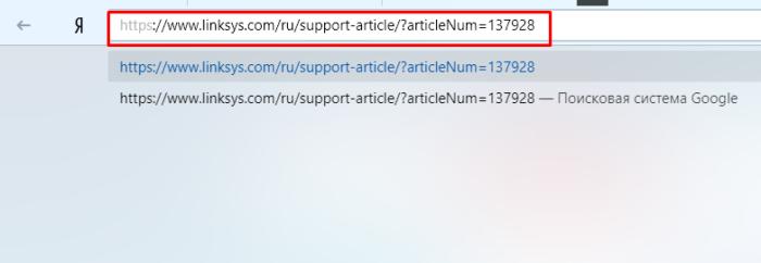 В поле поиска любого браузера вставляем скопированную ссылку, щелкаем «Enter»