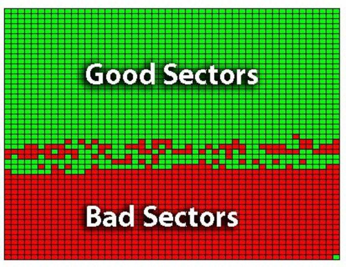 Битые сектора возможно восстановить с помощью встроенных средств системы и сторонних утилит