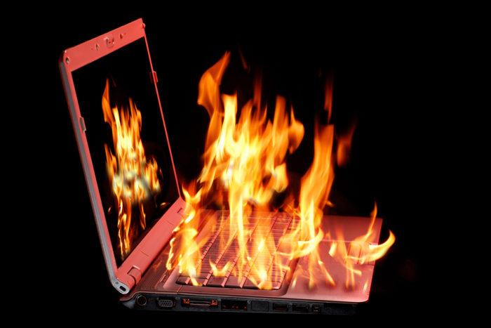 Признаки, по которым можно узнать, что ноутбук греется