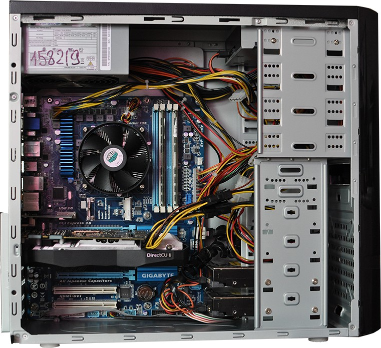 Рациональная укладка кабелей в системном блоке