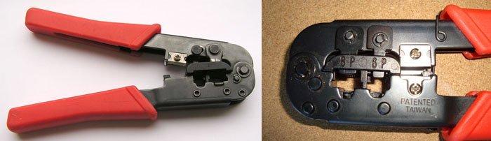 Специальный обжимной инструмент – «кримпер»
