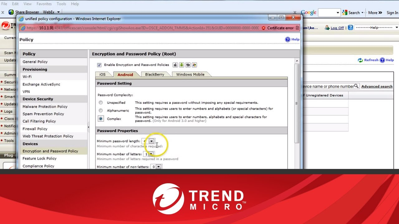 Trend micro mobile security antivirus