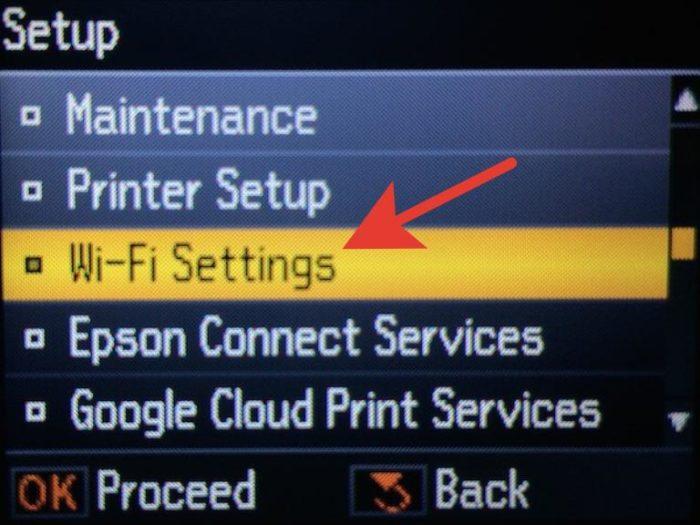 Выбираем пункт «Wi-Fi Settings»