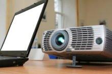 Как подключить проектор к ноутбуку