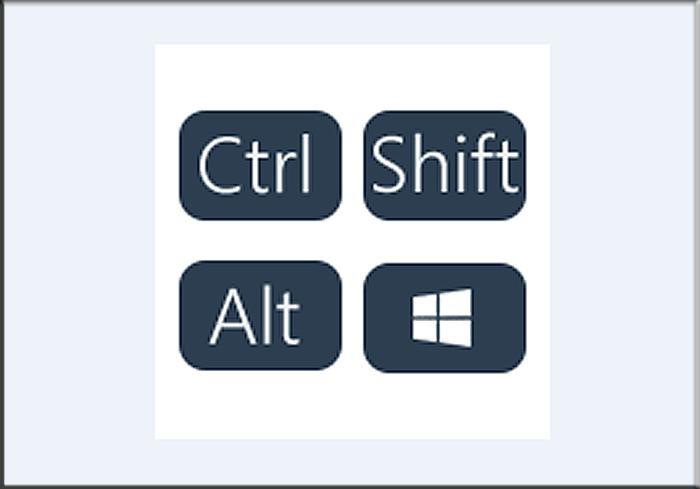 Клавиши-модификаторы, которые часто используются в сочетании с другими клавишами