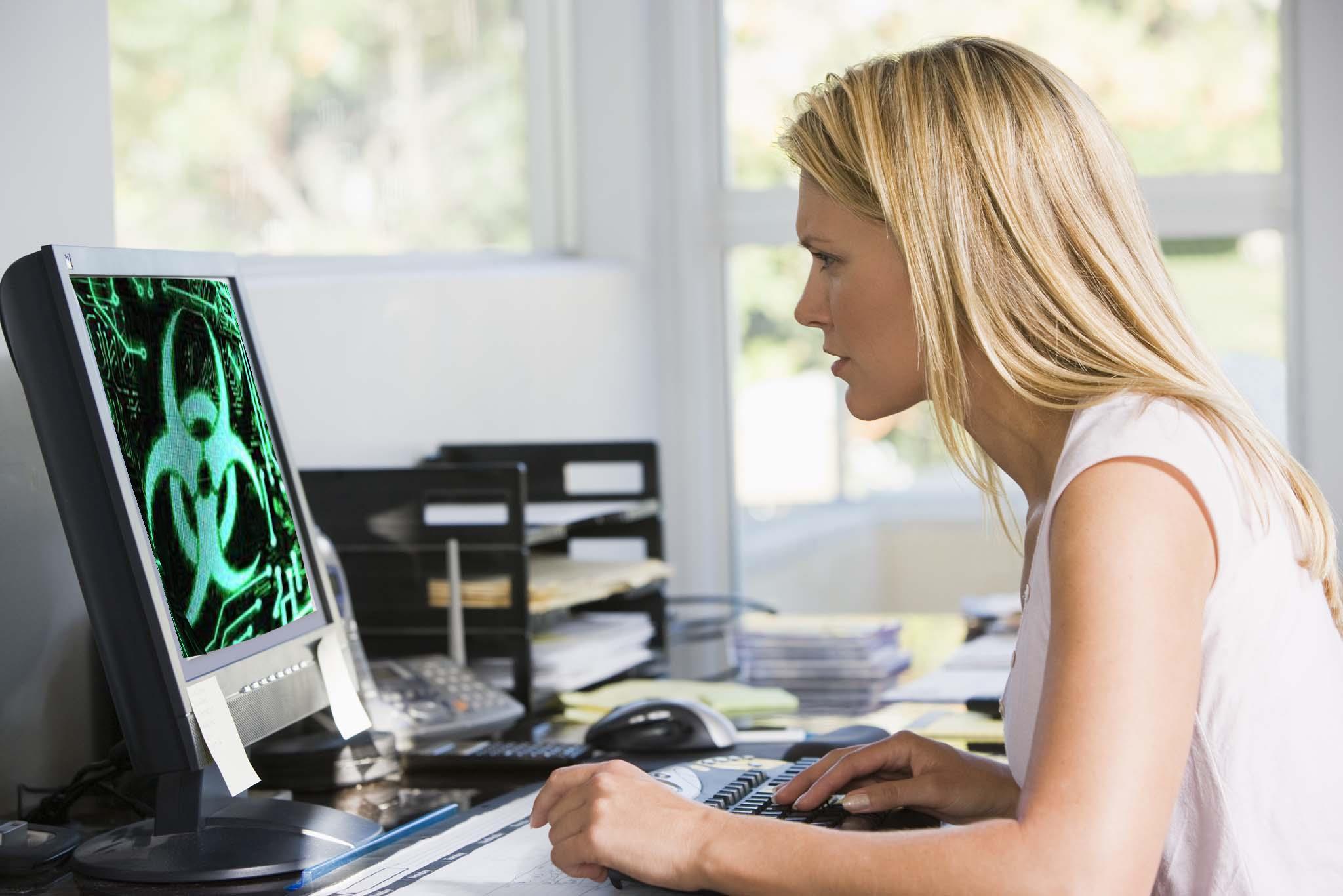 Компьютер заражен вирусами