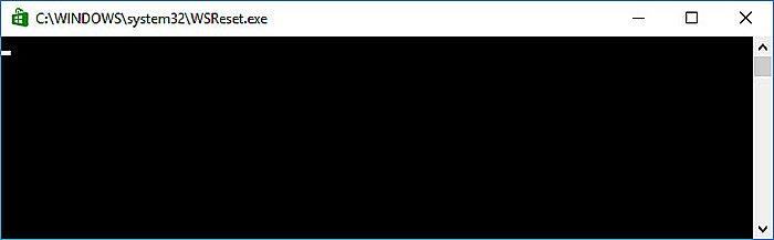 Окно – показатель того, что началось удаление кэшированных файлов загрузки