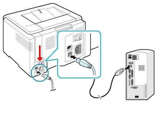 Подключаем штепсель питания к устройству и включаем его