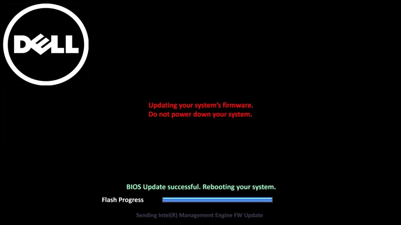 Во время обновления компьютер пройдет процесс перезагрузки, после чего начнется установка новых компонентов