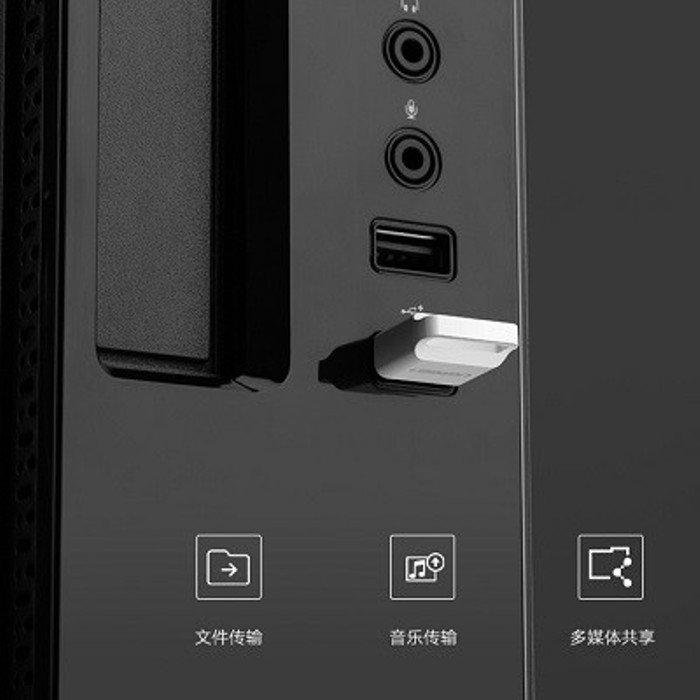 Вставляем Bluetooth адаптер в один из USB портов системного блока компьютера