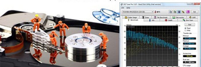 Если система не запускается, рекомендуем использовать программы для тестирования жесткого диска