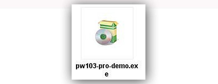 Файл установки программы