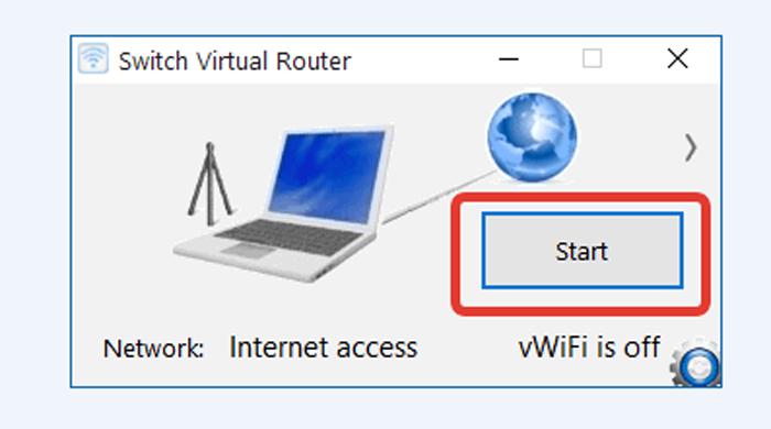 Нажимаем кнопку «Start»