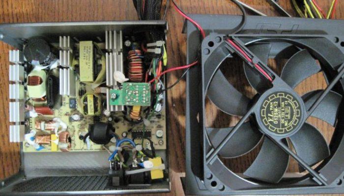 Подключаем новый вентилятор к блоку