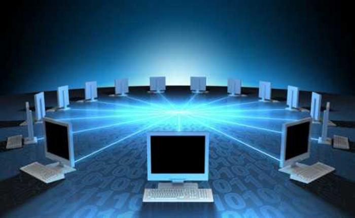 Получив IP-адрес, ПК соединяется с указанным устройством по сети