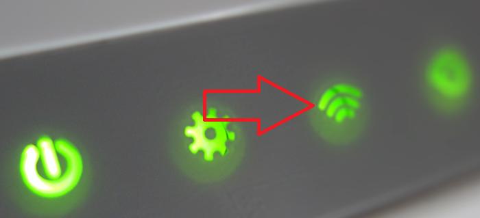 Смотрим на индикатор Wi-Fi на панели роутера при всех своих отключенных Wi-Fi- устройствах