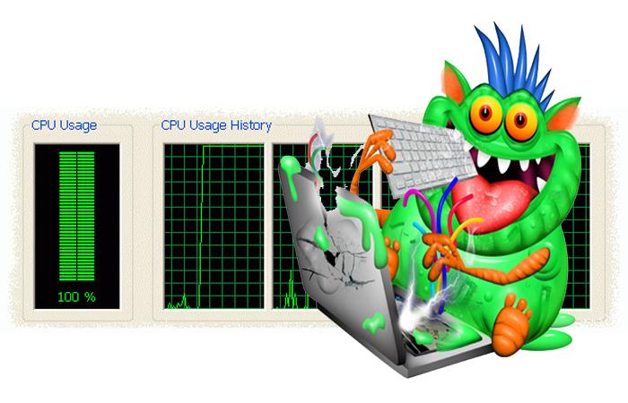 Заражение операционной системы вирусами