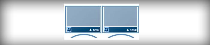 Доступ к кнопке «Пуск», панели инструментов на любом мониторе