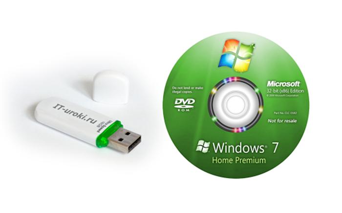Если ничего не помогает выполняем чистую установку с установочного диска или USB-флеш-накопителя