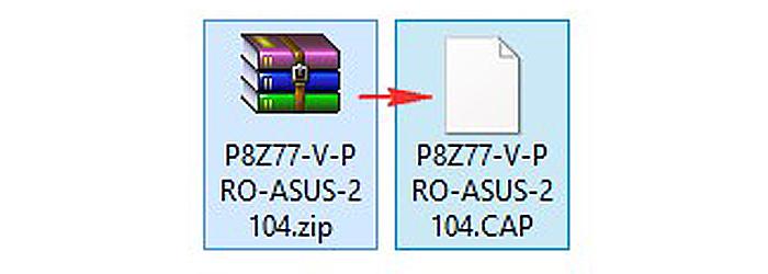 Распаковываем загруженный файл из архива
